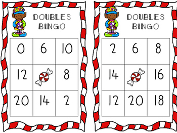 Sweet Elf Doubles Bingo