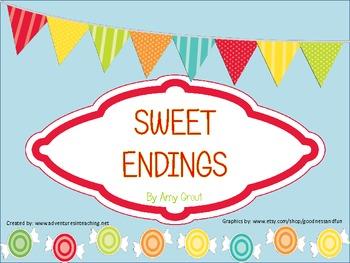 Sweet Endings: An Ending Punctuation Literacy Center