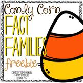 Free Fact Family Activity