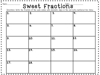 Sweet Fraction Scoot
