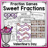 Valentine Fractions Games for Review and Practice
