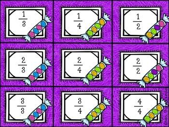 Sweet Fractions {Math Center Ideas}