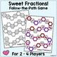 Valentine Fraction Addition Game - Freebie!