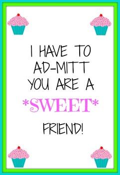 Sweet Friend Printable