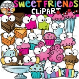 Sweet Friends Clipart {Happy Food Clipart}