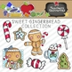 Sweet Gingerbread Clipart Collection || Commercial Use Allowed