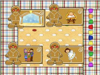 Sweet Gingerbread Syllabication Game for Early Learners