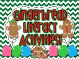 Sweet Gingy Gingerbread Man Literacy Activities