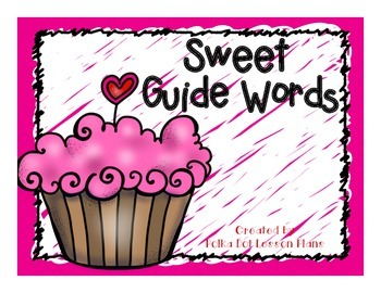 Sweet Guide Words