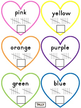 Sweet Heart Candy: Sort, Graph, Tally, Compare