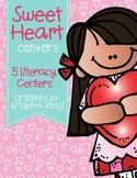 Valentine's Day Centers (Literacy)