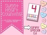 Sweet Heart Counting: A Ten Frame Manipulative Center
