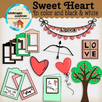 Sweet Heart - Love - Valentines - Hearts