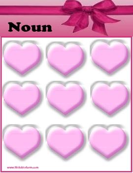 Sweet Heart Nouns and Pronouns
