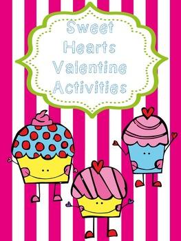 Sweet Hearts Valentine Activities