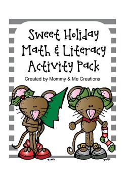 Sweet Holiday Math & Literacy Activity Pack