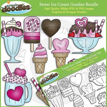 Sweet Ice Cream Goodies