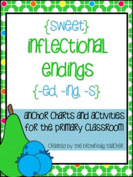 Inflected Endings (-ed, -ing, -s) Centers & Printables