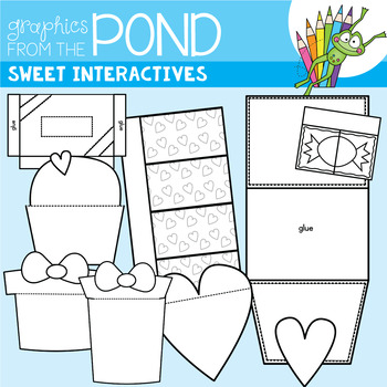 Sweet Interactives -  Template Set Great for Interactive Notebooks!