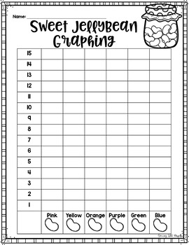 Sweet Jellybean Graphing FREEBIE!
