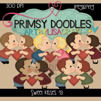 Sweet Kisses 300 dpi clipart