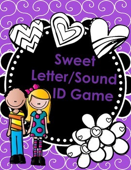 Sweet Letter/Sound ID Game