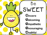 Sweet Like a Pineapple: Character Building for Back to School