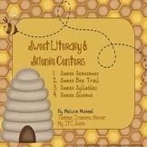 Sweet Literacy & Science Centers - 4 honeybee themed centers!