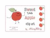 Sweet Little Apple Clipart