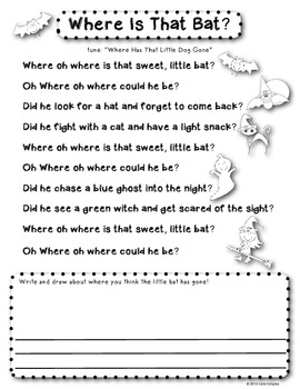 Sweet Little Bat Poem
