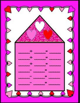 Sweet Little Fact Family Common Core Math Center