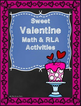 Sweet Math and RLA Valentine Printables