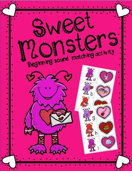 Beginning Sounds-Sweet Monsters