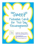 Sweet Motivation Cards for Test Day Encouragement