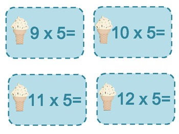 Sweet Multiplication Facts