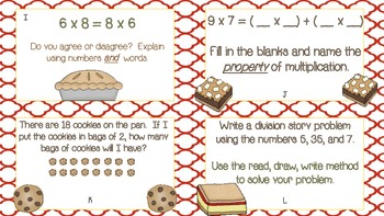 Multiplication and Division Relationships: Common Core Aligned