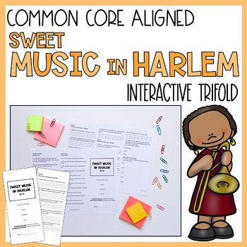 Sweet Music in Harlem Trifold (Reading Street 2011 edition)
