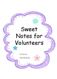 Volunteers - Sweet Notes