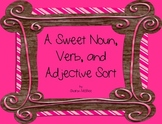 February Themed Noun, Verb, Adjective Sorting Center