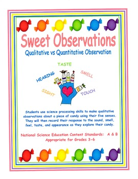 Sweet Observations - Qualit... by Barbara J | Teachers Pay Teachers