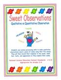 Sweet Observations - Qualitative vs. Quantitative Observation