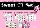 5 Valentine's Day Math Centres
