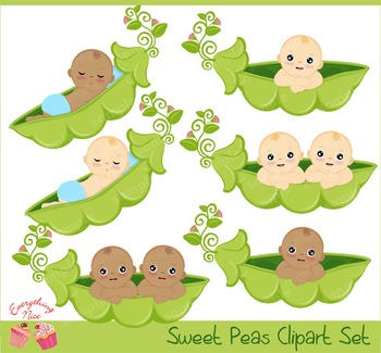 Sweet Peas Clipart