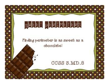 Sweet Perimeters 3.MD.8 Perimeter Task Cards