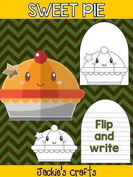 Sweet Pie - Jackie's Crafts Activity, Writing, Thanksgiving