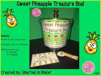 Sweet Pineapple Treasure Box