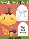 Sweet Pumpkin - Jackie's Crafts Activity, Writing, Thanksgiving