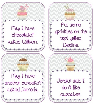 Sweet Quotations - Quotation Mark Center