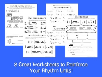 Sweet Rhythms: Activities with Grouped Sixteenth Notes and 16th/8th Groups