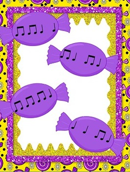 Sweet Rhythms - a set of four folder games